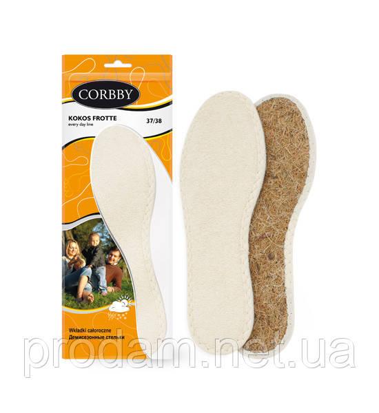 Устілка з махрової тканини на кокосовій стружці