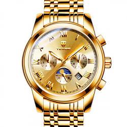 Мужские часы Tevise Royal Gold
