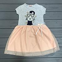 Платье нарядное для девочек оптом р.2-4 лет
