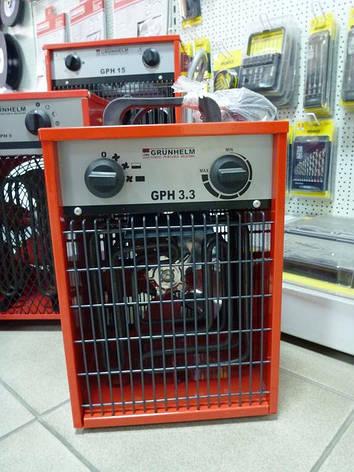 Электрический обогреватель Grunhelm GPH 3. 3.3кВт, фото 2