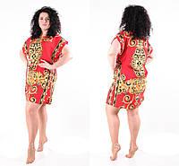 Нарядное платье туника женское летнее