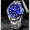 Чоловічі годинники Tevise Daytona Blue, фото 2