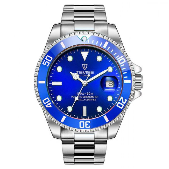 Чоловічі годинники Tevise Daytona Blue