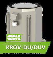 Вентилятор крышный радиальный дымоудаления KROV-DU/DUV-100