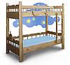 Двухъярусная детская кровать Врунгель