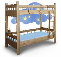 Двухъярусная детская кровать Врунгель, фото 1