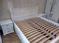 """Кровать двуспальная """"Мираж"""" деревянная"""