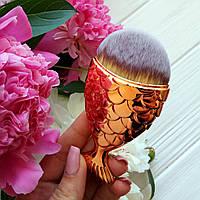 Кисть рыбка для макияжа Fish Brushes  (реплика)