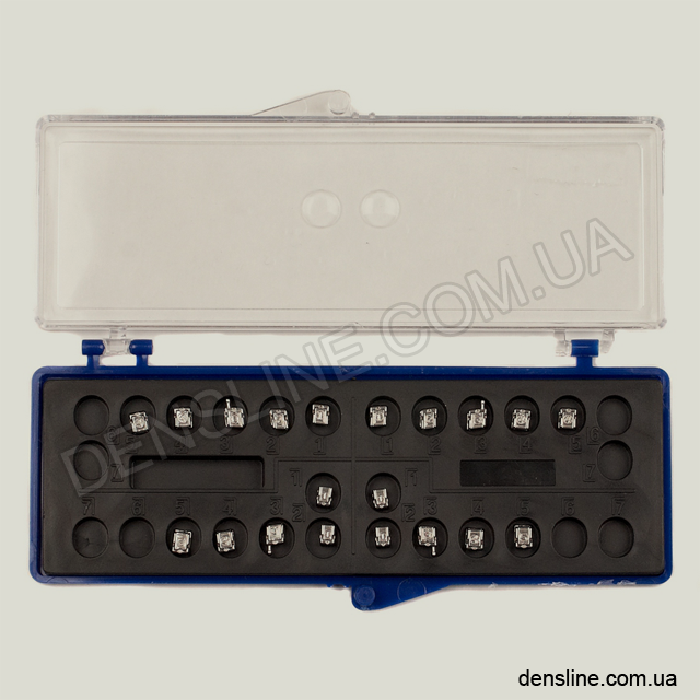 Металлические самолигирующие брекеты Smart Slide Roth 018/022 - Набор (Creative) NaviStom