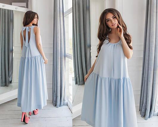 Свободное платье в пол, фото 2