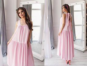 Свободное платье в пол, фото 3