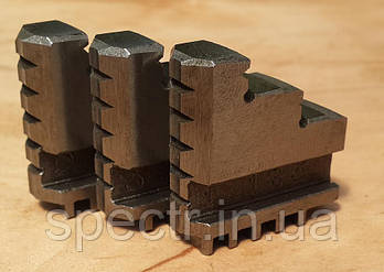 Кулачки прямые токарного патрона диаметром 80мм