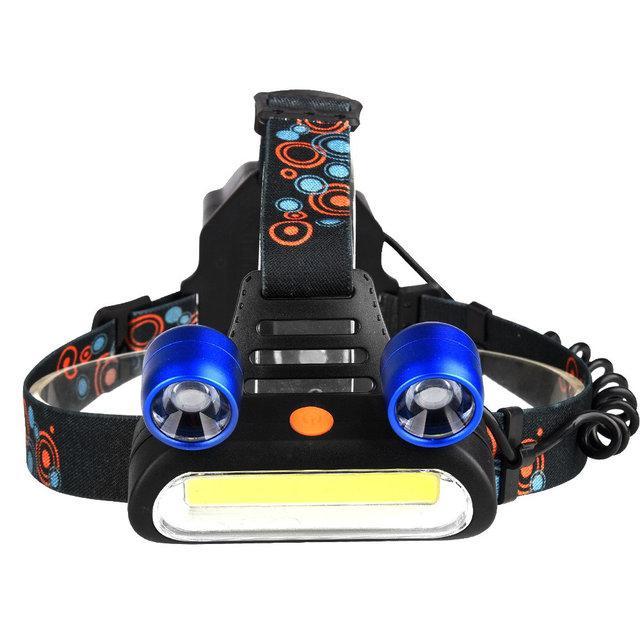 Налобний ліхтар Boruit JR-2200