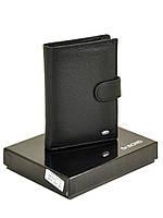 Кожаный мужской кошелек, портмоне Dr Bond, блок для водительских прав. (натуральная кожа)