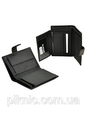 Кожаный мужской кошелек, портмоне Dr Bond, блок для водительских прав. (натуральная кожа), фото 2