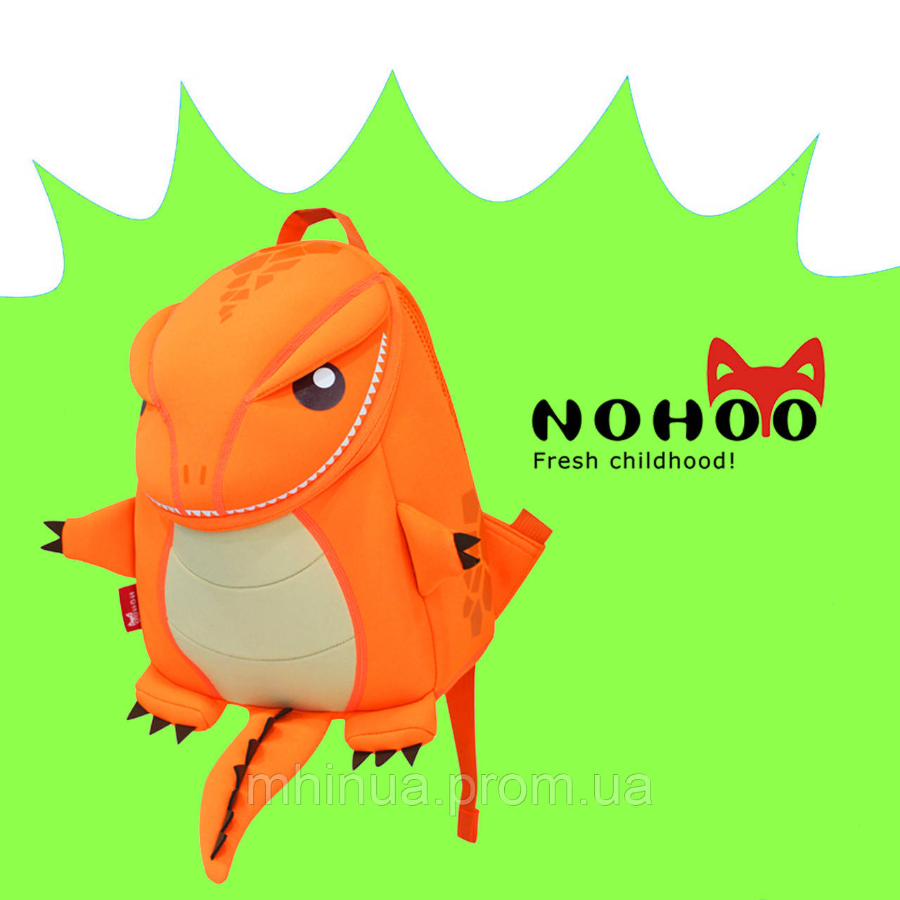 Детский рюкзак Nohoo Tyrannosaurus Style Тиранозавр Рекс (NH029 Orange)