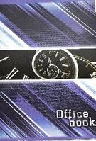 """Тетрадь клетка мягкий переплет 48л.,""""Office book"""" бумага газетная Бриск № ТВ-20"""