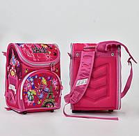 Рюкзак школьный 2 кармана, спинка ортопедическая, ножки пластиковые