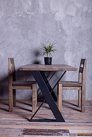 Стол Loft L-35, 1600*900, массив ясеня или дуба, мебель лофт