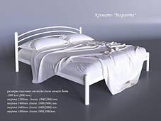 Кровать Маранта Белая 180*200 (Tenero TM), фото 3