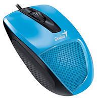 Проводная мышь Genius DX-150X Blue USB