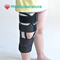 Бандаж (тутор) на коленный сустав Алком 3013 Kids, 2 размер, серый