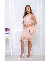 Красивое стильное летнее  платье, фото 1