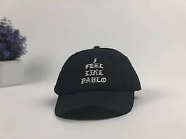 Кепки бейсболки I feel like Pablo (черная)