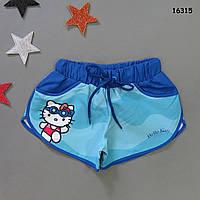 Шорты Hello Kitty для девочки. 2-3;  3-4;  5-6;  6-7; 7-8  лет