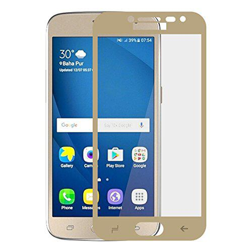 Full Cover защитное стекло для Samsung Galaxy J2 2018 (SM-J250F) - Gold