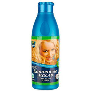 Кокосовое масло для волос и тела Parachute 100%, 100 мл