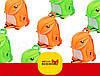 Детский рюкзак Nohoo Tyrannosaurus Style Тиранозавр Рекс (NH029 Green), фото 2