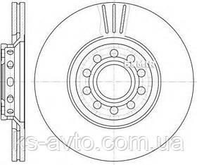 Гальмівний диск REMSA 6596.10