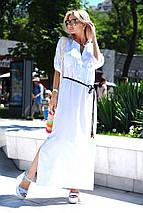Платье длинное льняное, фото 3