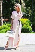 Платье длинное льняное, фото 2
