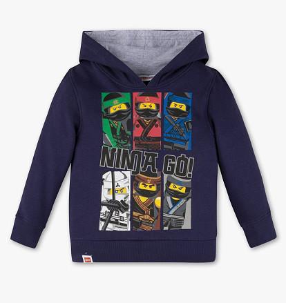 Детская кофта Lego Ninjago для мальчика 4-5 лет C&A Германия Размер 110
