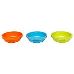 SMASKA Миска, 3 шт., разный цвета, 30145332, ИКЕА, IKEA, SMASKA