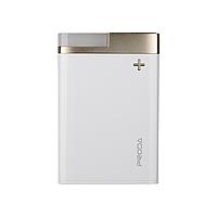УМБ Power Bank  Proda Crave PPL-20 12000mAh бело-золотая
