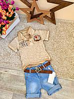 Летний костюм для мальчика Оптом и в розницу Турция   от 1 до 4 лет и 4-8 лет