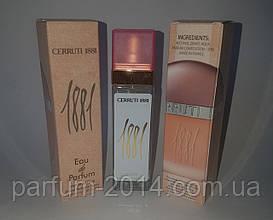 Женский мини парфюм черутти пур фем Cerruti 1881 pour Femme 40 ml (лиц) духи аромат запах пробник тестер