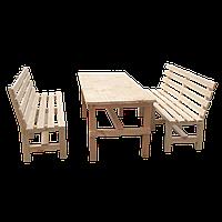 Стол и 2 лавки