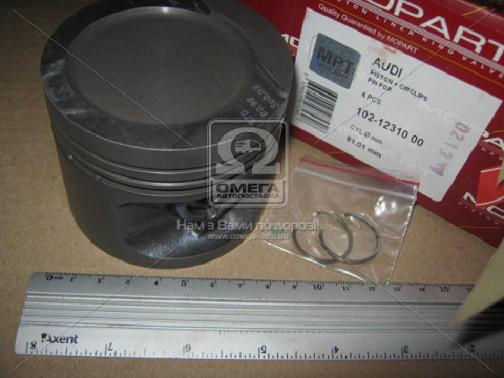 Поршень двигателя AUDI (Ауди) 81,01 1,6 (пр-во Mopart)