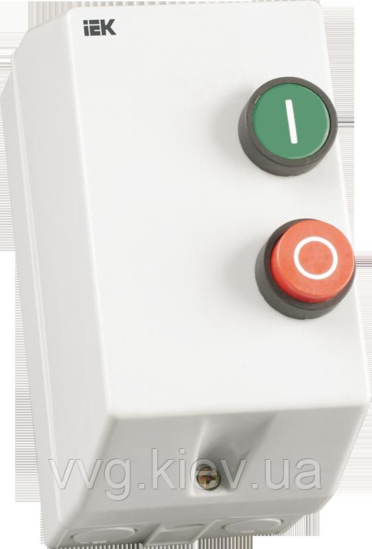 Контактор КМИ11260 12А IP54 с индикатором Ue=230В/АС3  IEK