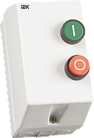 Контактор КМИ11260 12А IP54 с индикатором Ue=230В/АС3  IEK, фото 1