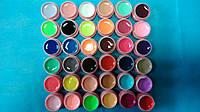 Набор цветных матовых гелей 36 шт
