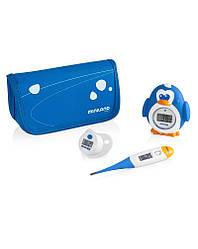 Комплект из 3 цифровых термометров Miniland baby Thermokit синий
