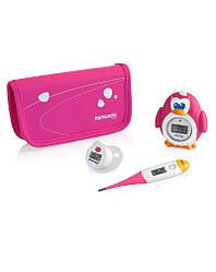 Комплект из 3 цифровых термометров Miniland baby Thermokit розовый
