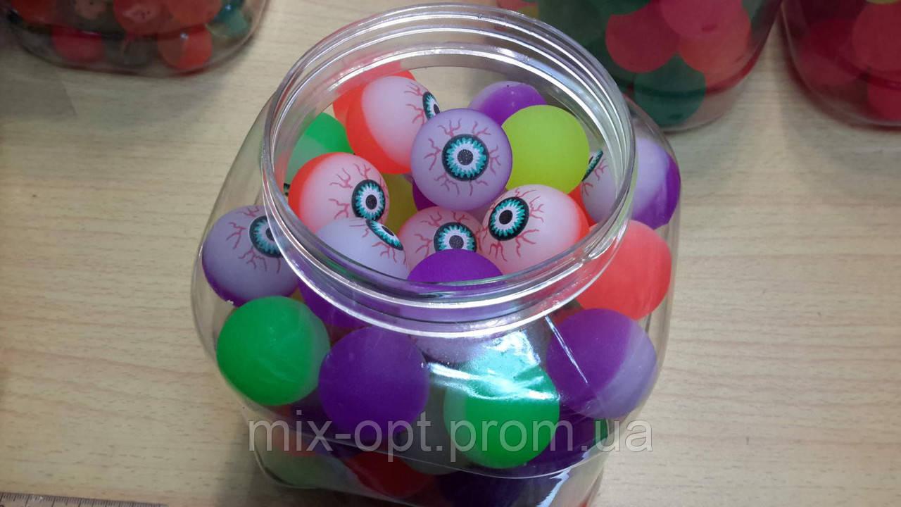 Мяч прыгун Глаз средний 26 шт (Китай)