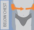 Эластичный реклинатор грудного отдела позвоночника арт. ET 210 Orliman