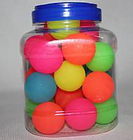 Мяч прыгун большой цветной 10 шт (Китай)